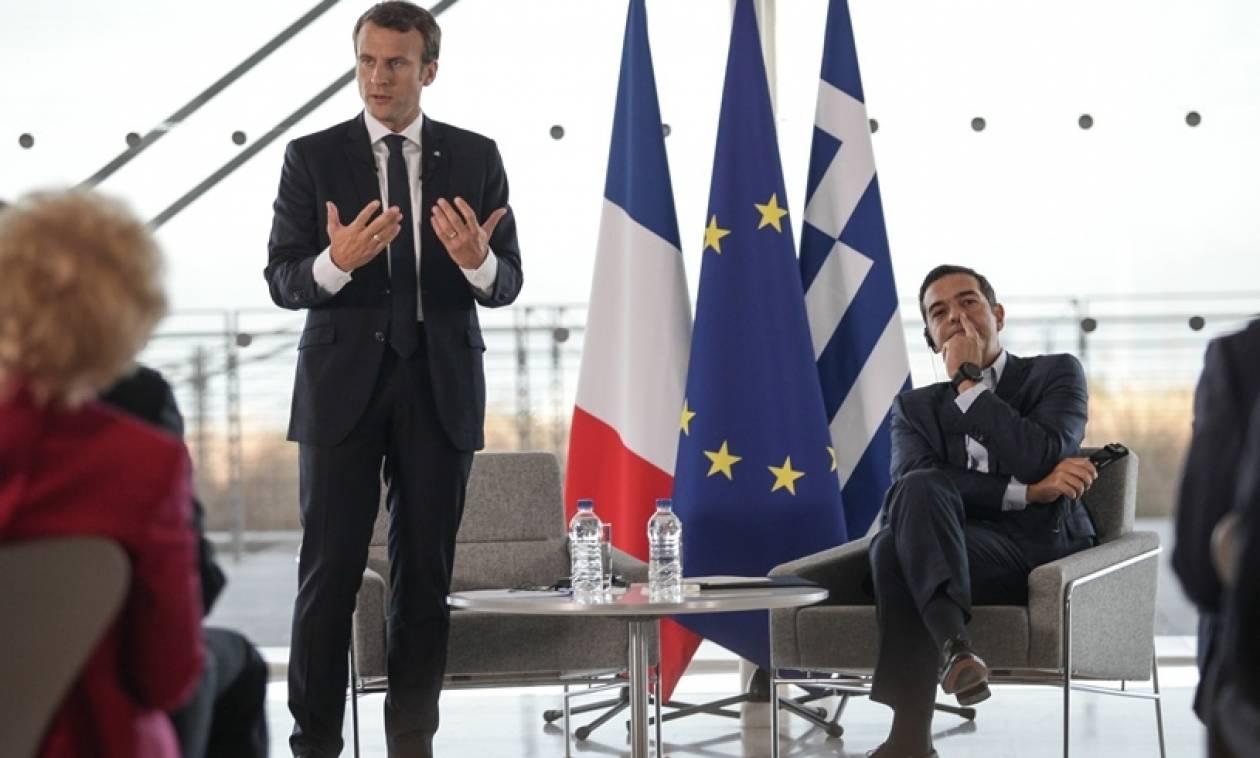 Επίσκεψη Μακρόν: Tα βαριά ονόματα του ελληνικού επιχειρείν απαξίωσαν το σόου Τσίπρα – Μακρόν