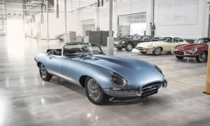 Jaguar E-type Zero: Ηλεκτρικό αυτοκίνητο από τα βάθη της δεκαετίας του '60