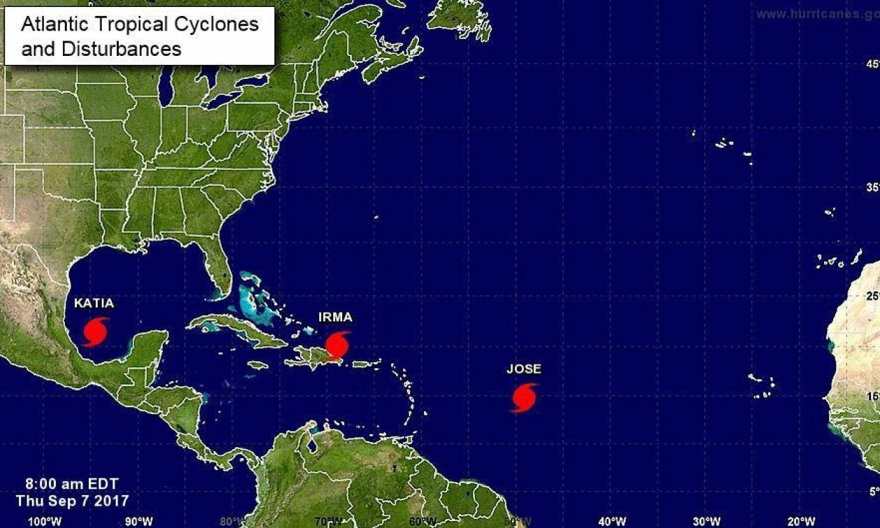 Μεξικό: Ο κυκλώνας Κάτια υποβαθμίστηκε σε τροπική καταιγίδα
