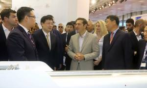 ΔΕΘ 2017 – Τσίπρας προς Κινέζους: Εμπιστευτείτε την Ελλάδα – Η οικονομία διψά για επενδύσεις