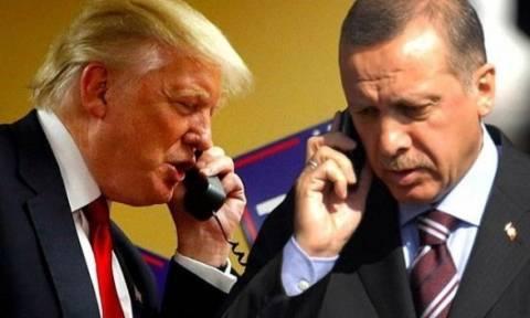 Έκτακτη τηλεφωνική συνομιλία Τραμπ - Ερντογάν - Τι συζήτησαν οι δύο πρόεδροι