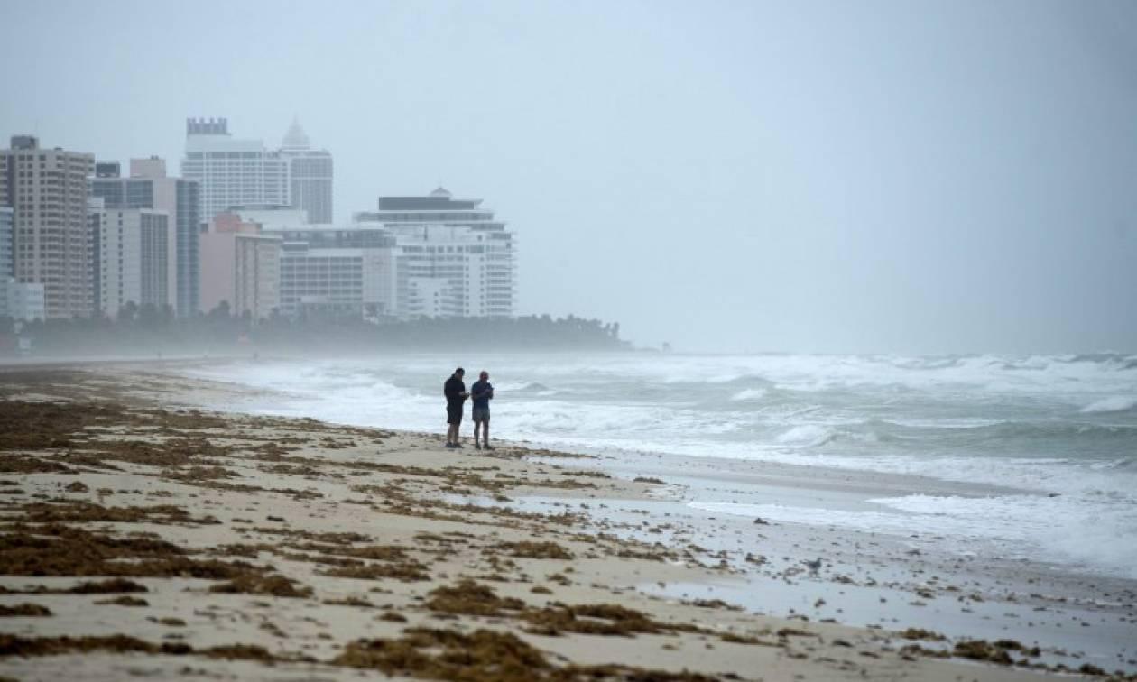 Εικόνα - σοκ: Ο κυκλώνας Ίρμα είναι μεγαλύτερος από την Ελλάδα και την Ιταλία μαζί