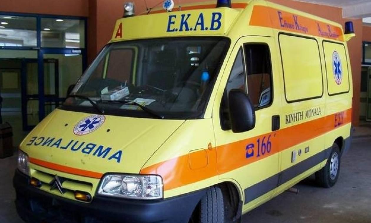 Τρίκαλα: Δύο τραυματίες από σφοδρή σύγκρουση νταλίκας με βανάκι (pic & vid)