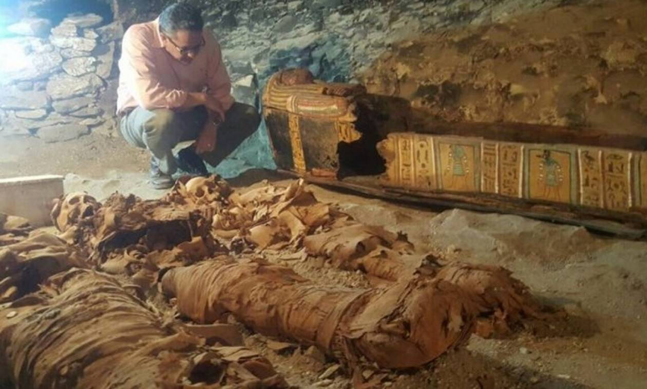 Συγκλονιστική ανακάλυψη: Στο «φως» φαραωνικός τάφος 3.000 χρόνων (video)