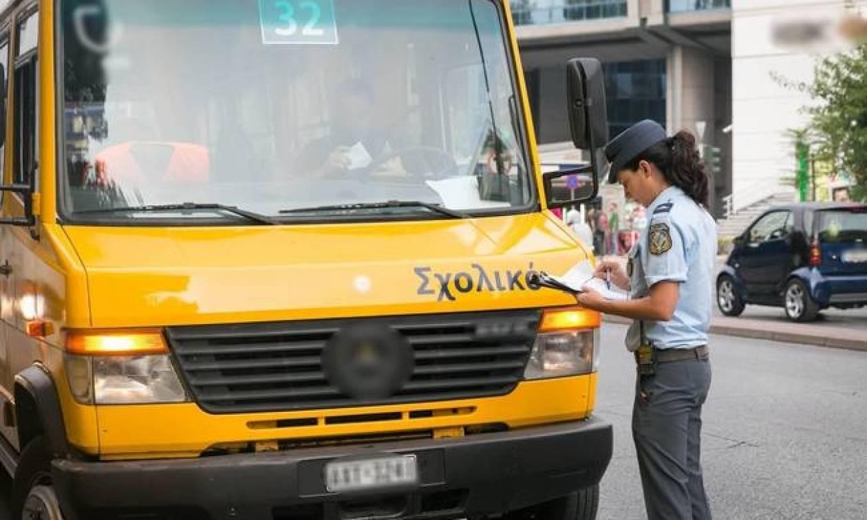 Με παραβάσεις σε λεωφορεία και φυλλάδια κυκλοφοριακής αγωγής άνοιξαν τα σχολεία (pics&vid)