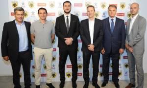ΟΠΑΠ και ΠΑΕ ΑΕΚ συνεχίζουν μαζί και την αγωνιστική περίοδο 2017-18
