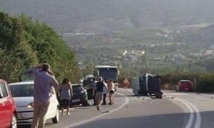 Νέο σοβαρό τροχαίο με εγκλωβισμό στην Κρήτη: Ένας σοβαρά τραυματίας