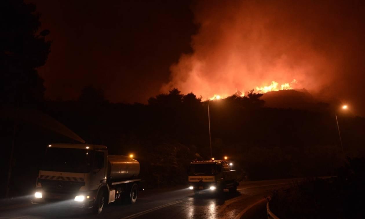 Φωτιά ΤΩΡΑ: Νύχτα κόλασης στην Αχαΐα - Εκκενώθηκαν χωριά