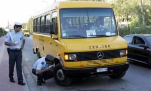 Δεκάδες παραβάσεις σε σχολικά λεωφορεία