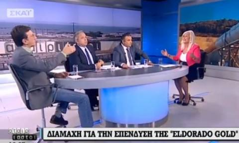 Άγριος καβγάς! Αυλωνίτου: «Είσαι γραφείο Τύπου της Eldorado» - Πορτοσάλτε: «Θα σου κάνω μήνυση»