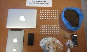 Λάρισα: Παρέλαβε 100 χάπια ecstasy ταχυδρομικώς από την Ολλανδία