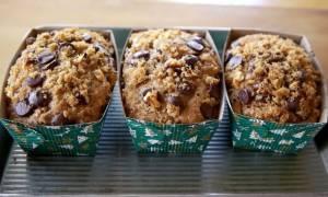 Μπανανόψωμο με σοκολάτα: Η συνταγή που κάνει πάταγο!