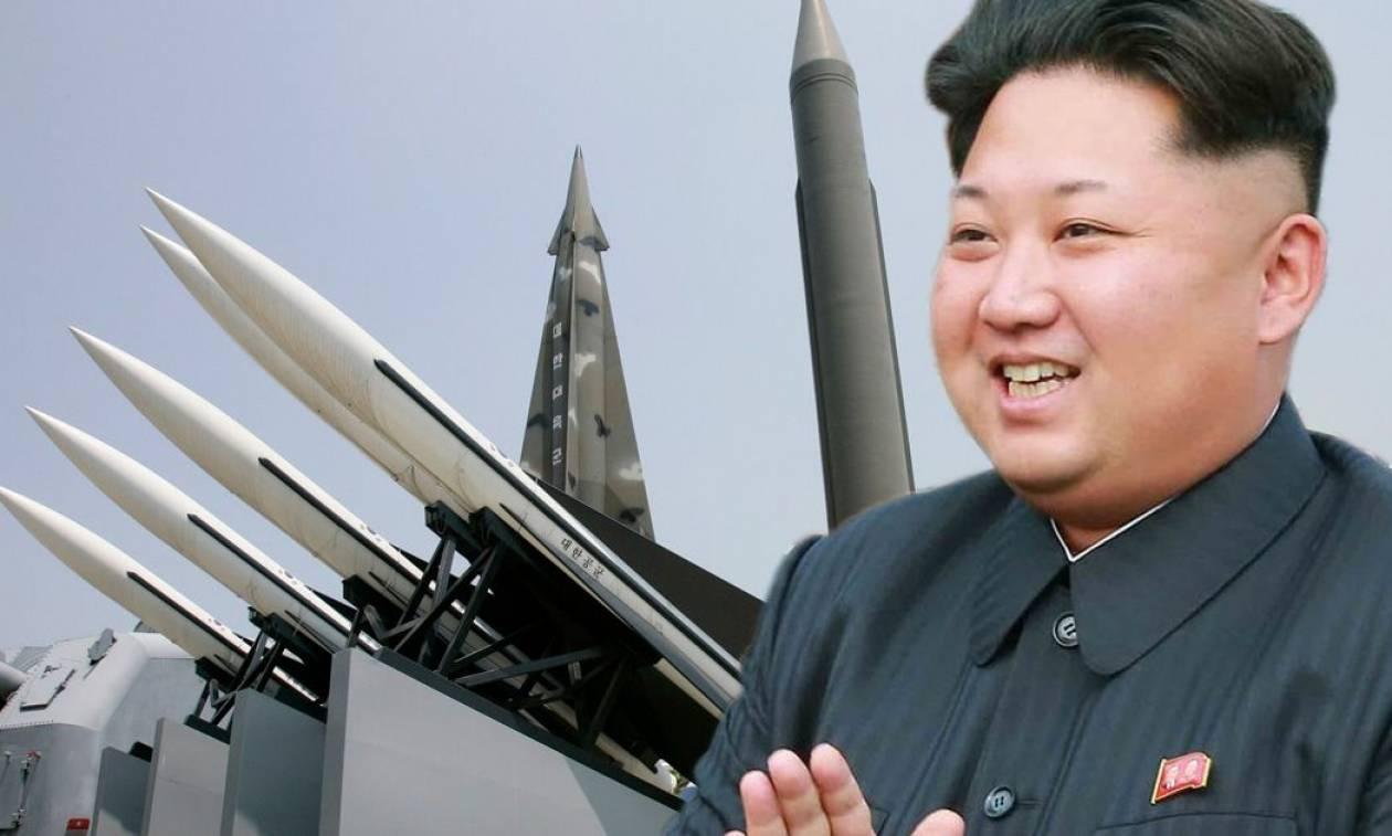 Δεν πτοείται ο Κιμ Γιονγκ Ουν: «Κυρώσεις εσείς, πυραύλους εμείς»