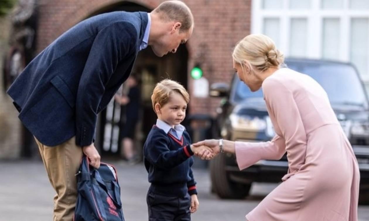 Ο πρίγκιπας George απαγορεύεται να έχει «κολλητό» φίλο στο σχολείο