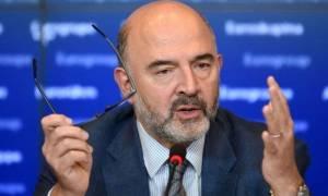 Υπέρ της πρότασης Γιούνκερ για υπουργό Οικονομικών της ευρωζώνης τάχθηκε ο Μοσκοβισί
