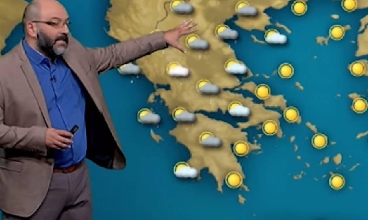 Ο χάρτης... ζέστης και η προειδοποίηση του Σάκη Αρναούτογλου (video)