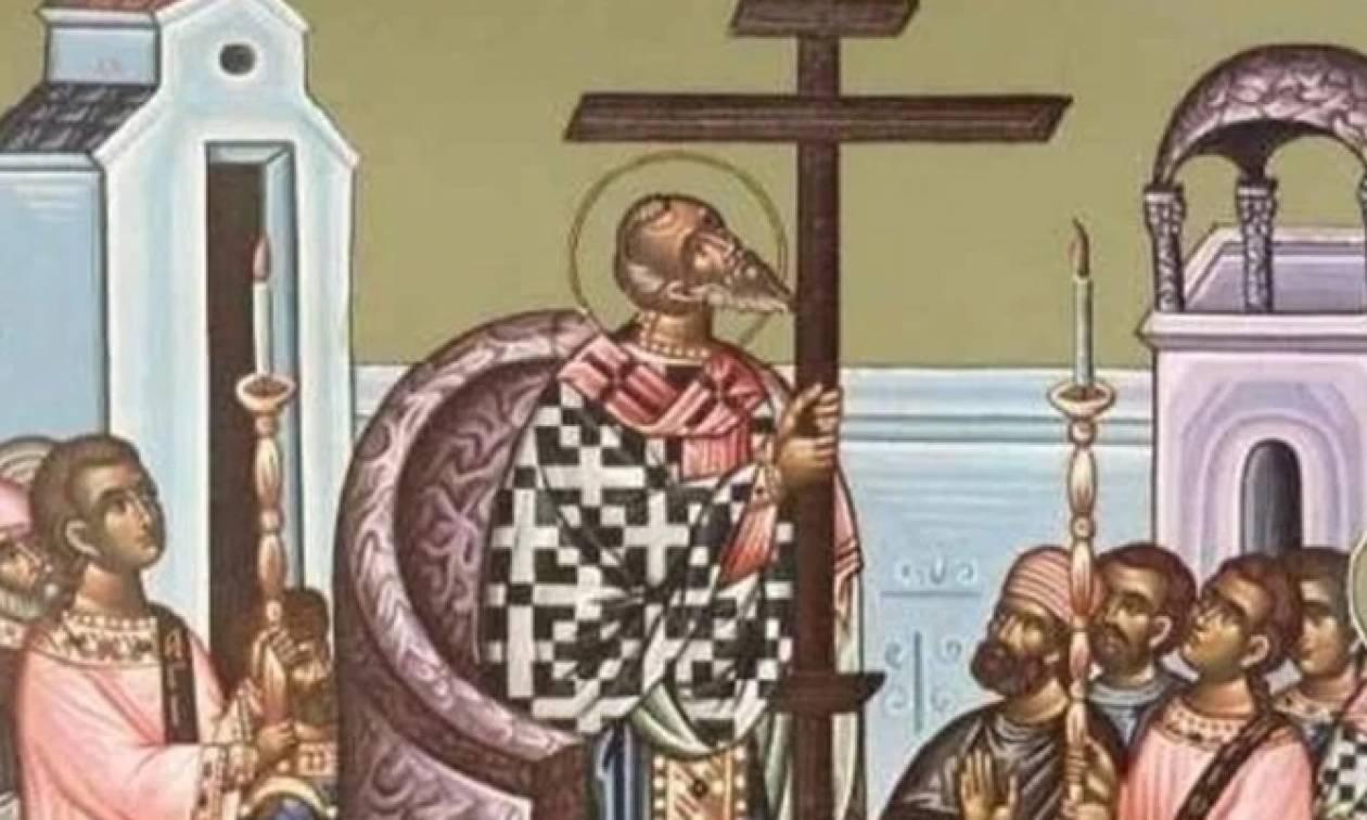 Η Μεγάλη Εορτή της Υψώσεως του Τιμίου Σταυρού
