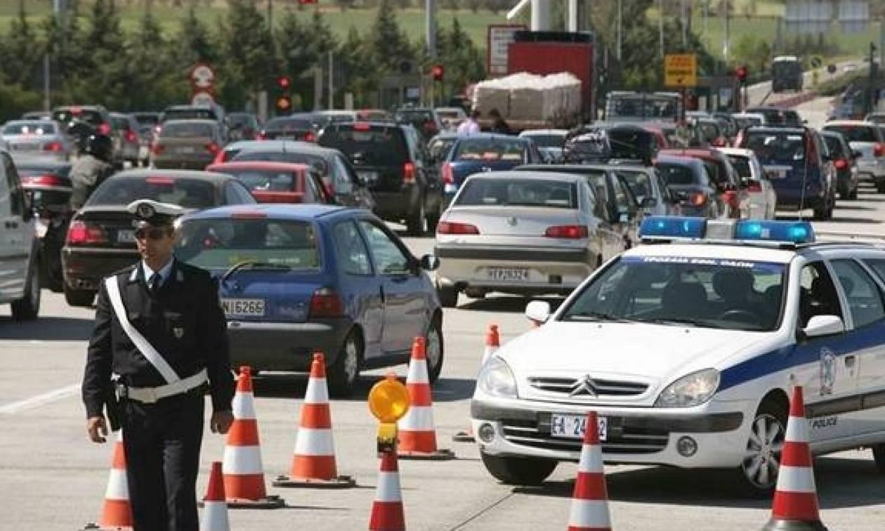 Καραμπόλα πέντε αυτοκίνητων στην εθνική οδό Αθηνών-Λαμίας