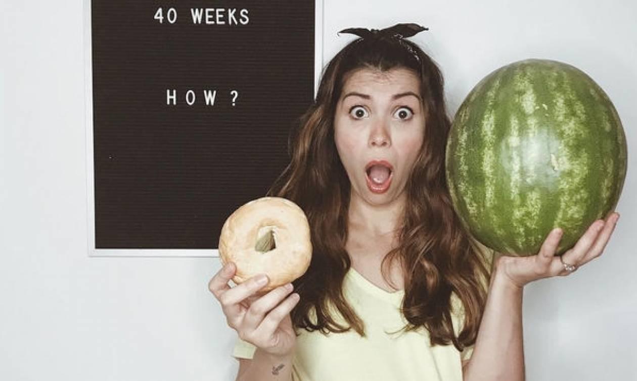 Μαμά ανακάλυψε ότι ήταν έγκυος ξανά, δύο μήνες μετά τη γέννηση της πρώτης της κόρης(pics)