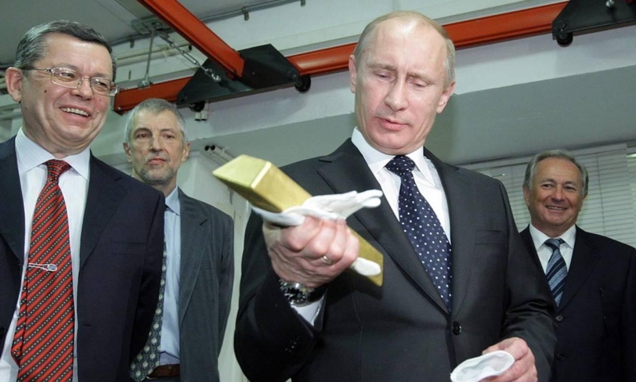 H Ρωσία θα γίνει ο δεύτερος μεγαλύτερος παραγωγός χρυσού στον κόσμο