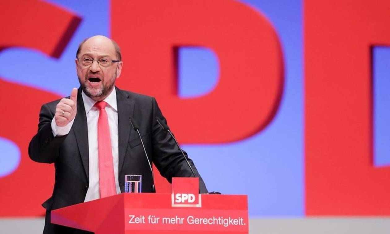 Εκλογές Γερμανία: Δημοσκόπηση - εφιάλτης για το SPD του Σούλτς
