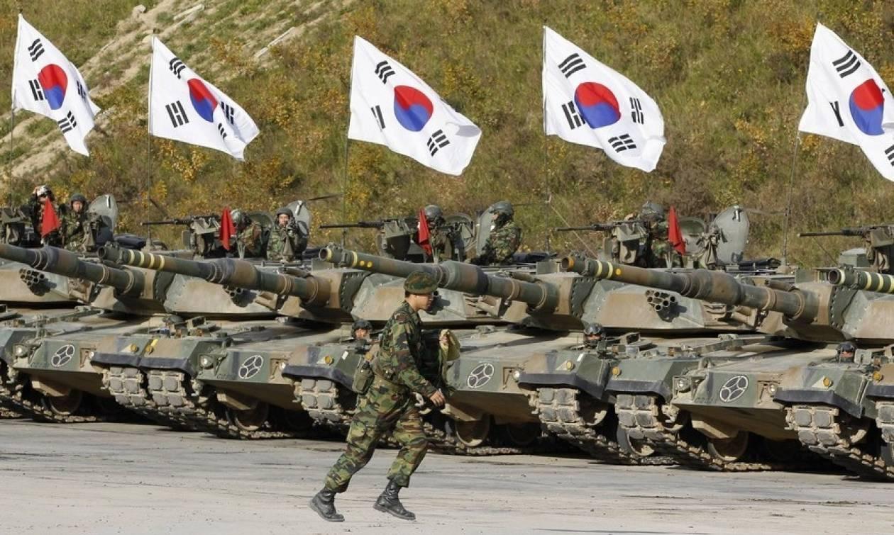 Η Νότια Κορέα απάντησε στην Πιονγιάνγκ με στρατιωτικές ασκήσεις