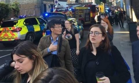 Several hurt in 'terrorist' incident on London underground train