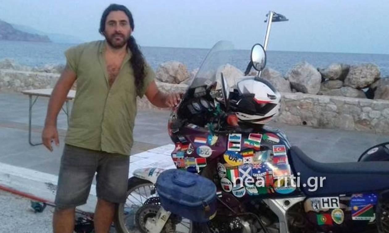 Κάνουν το γύρο του κόσμου με μηχανή και σταμάτησαν στην Κρήτη