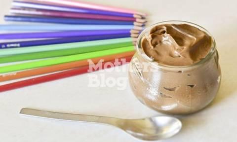 Κρέμα σοκολάτα με αβοκάντο και χωρίς λακτόζη από τον Γιώργο Γεράρδο