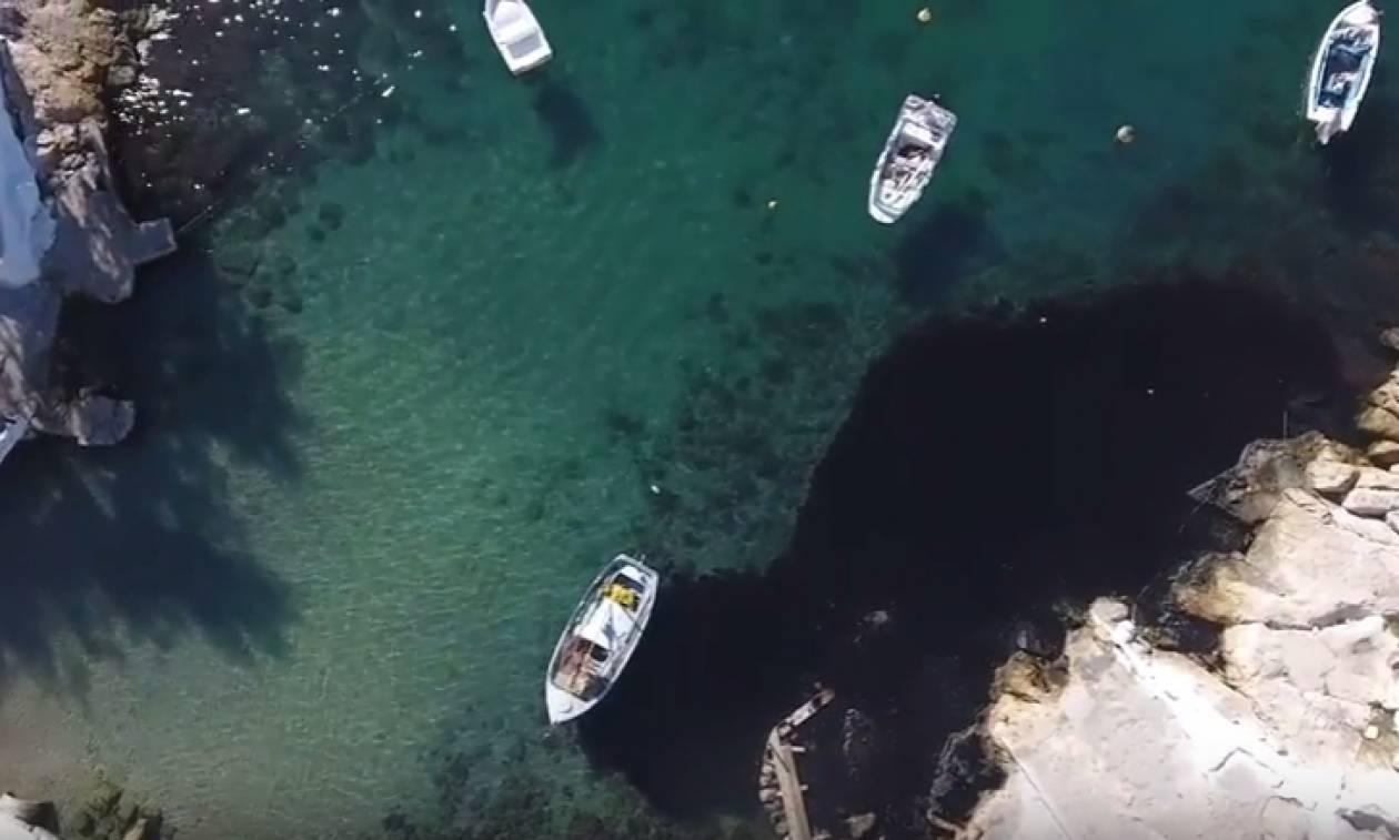 Συγκλονιστικό βίντεο για την πετρελαιοκηλίδα στον Σαρωνικό: Μεγάλη η οικολογική καταστροφή