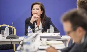 Μπακογιάννη: Πρέπει να υπάρξει πολιτική αλλαγή