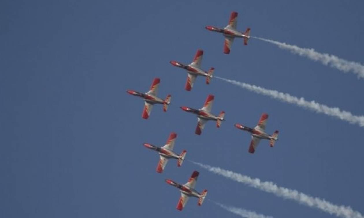 Top Gun στην Τανάγρα: Η αδρεναλίνη στα ύψη
