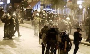 Πέντε συλλήψεις για τα επεισόδια κοντά στα γραφεία της Χρυσής Αυγής