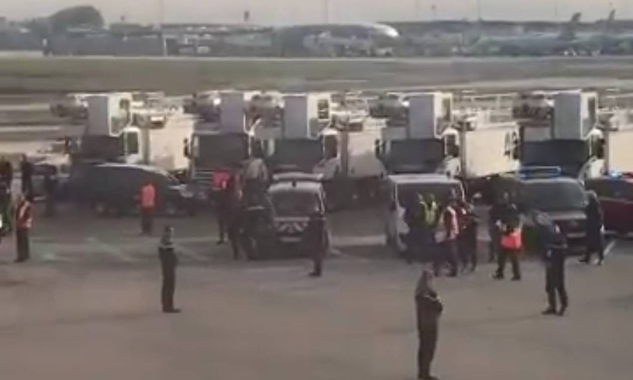 Γαλλία: «Λάθος συναγερμός» στο αεροδρόμιο Σαρλ ντε Γκολ στο Παρίσι (Pics)