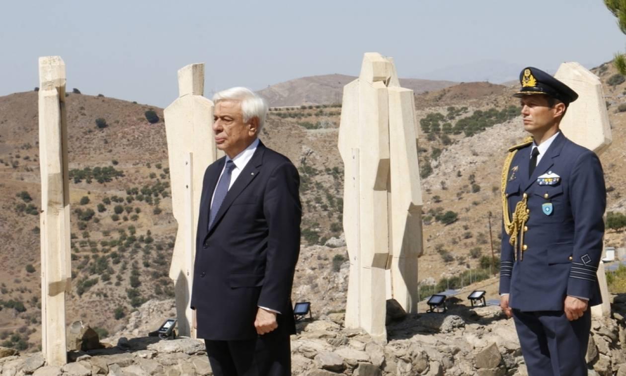 Παυλόπουλος: Oι απαιτήσεις μας για το κατοχικό δάνειο και τις αποζημιώσεις είναι απαράγραπτες (Pics)