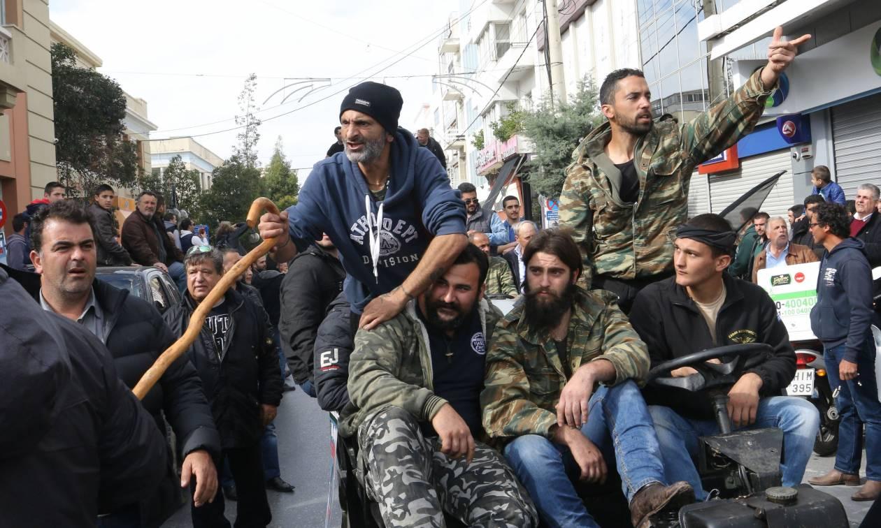 Ξεσηκωμός στην Κρήτη: Με τις κατσούνες θα περιμένουν οι αγρότες τον Τσίπρα στο Ηράκλειο
