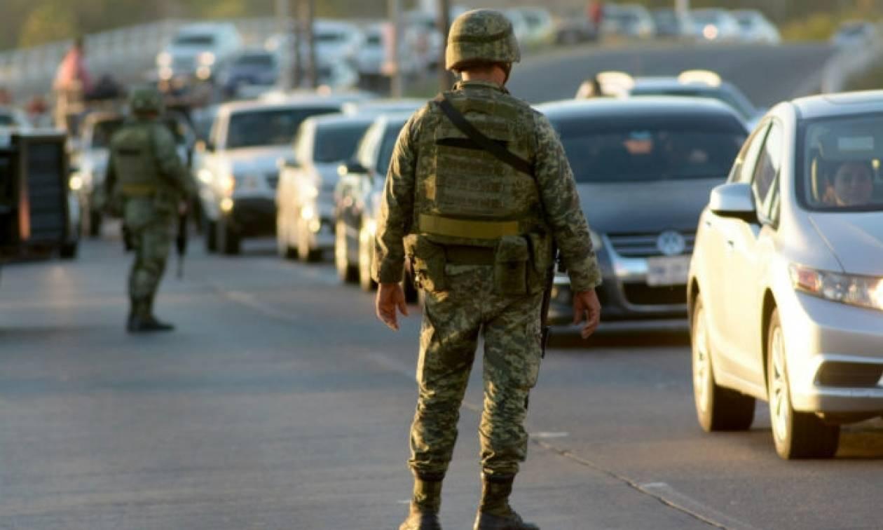 Μεξικό: Εννέα νεκροί σε μάχη ανάμεσα σε στρατιώτες και μέλη συμμορίας
