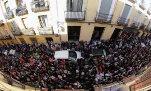Ισπανία: Κάτοικοι της Μαδρίτης υποστήριξαν το δικαίωμα των Καταλανών για το δημοψήφισμα (vid)
