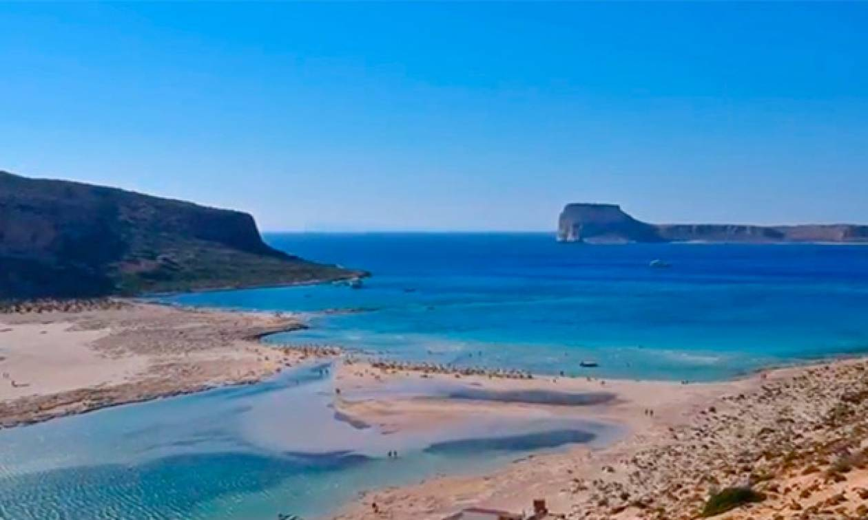 Ξένος τουρίστας μαγεύτηκε από την Κρήτη και το αποτύπωσε σε ένα υπέροχο βίντεο με εναέρια πλάνα