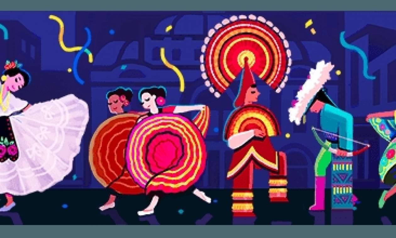 Amalia Hernadez: Το doodle της Google για την σπουδαία χορεύτρια και χορογράφο