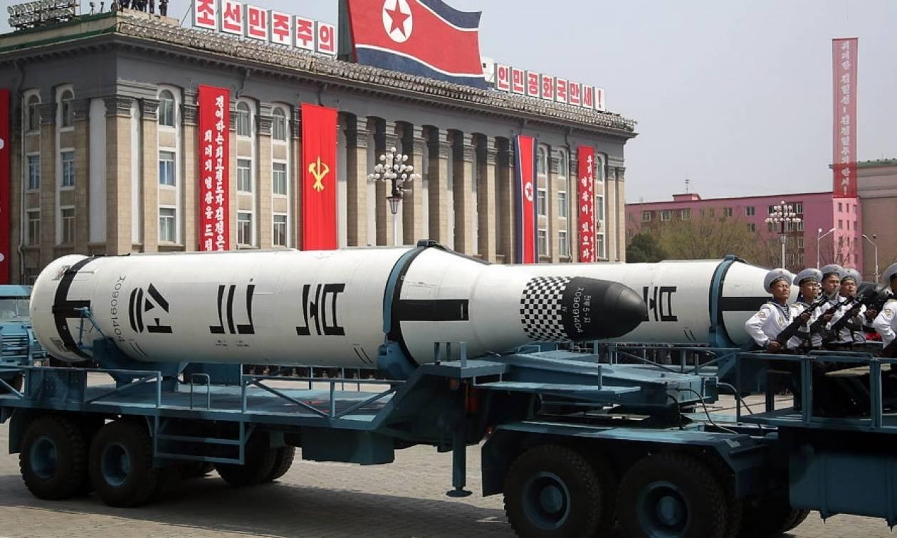 Β. Κορέα: Οι «σκληρές» κυρώσεις θα οδηγήσουν στην επιτάχυνση του πυρηνικού μας προγράμματος