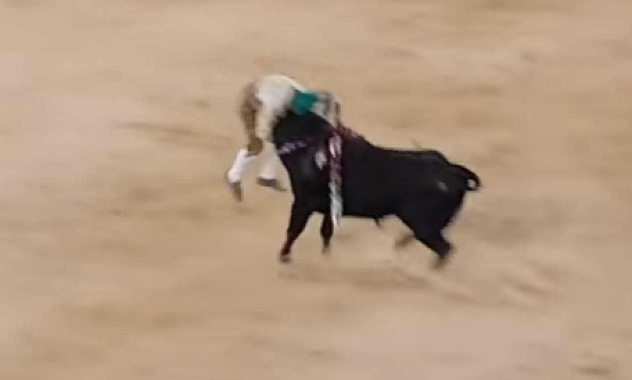 Φρικτό βίντεο: Ταύρος σκότωσε ταυρομάχο που τον προκάλεσε με γυμνά χέρια