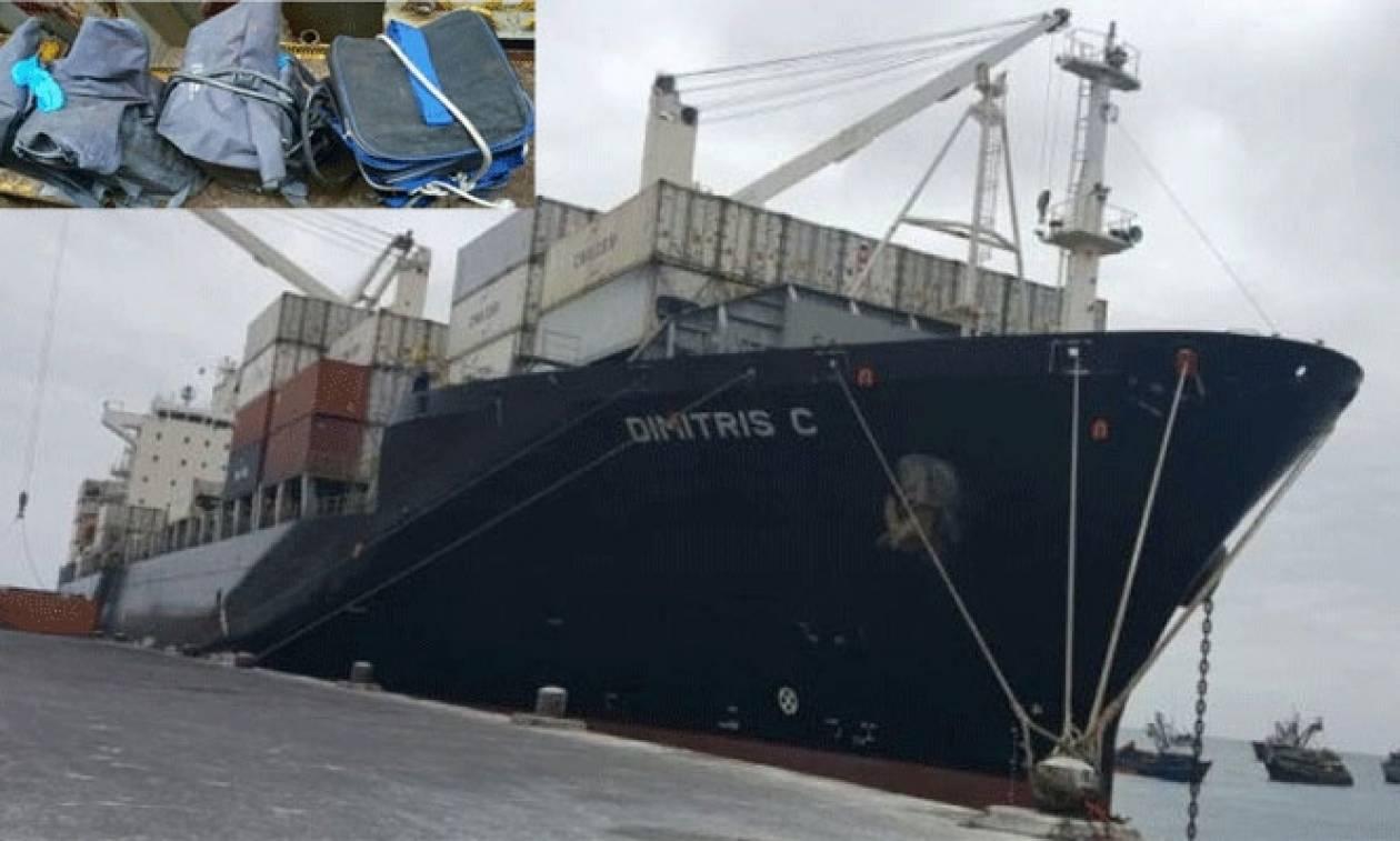 Θρίλερ με πλοίο του εφοπλιστή Γιάννη Κούστα: Βρέθηκαν 121 κιλά κοκαΐνης