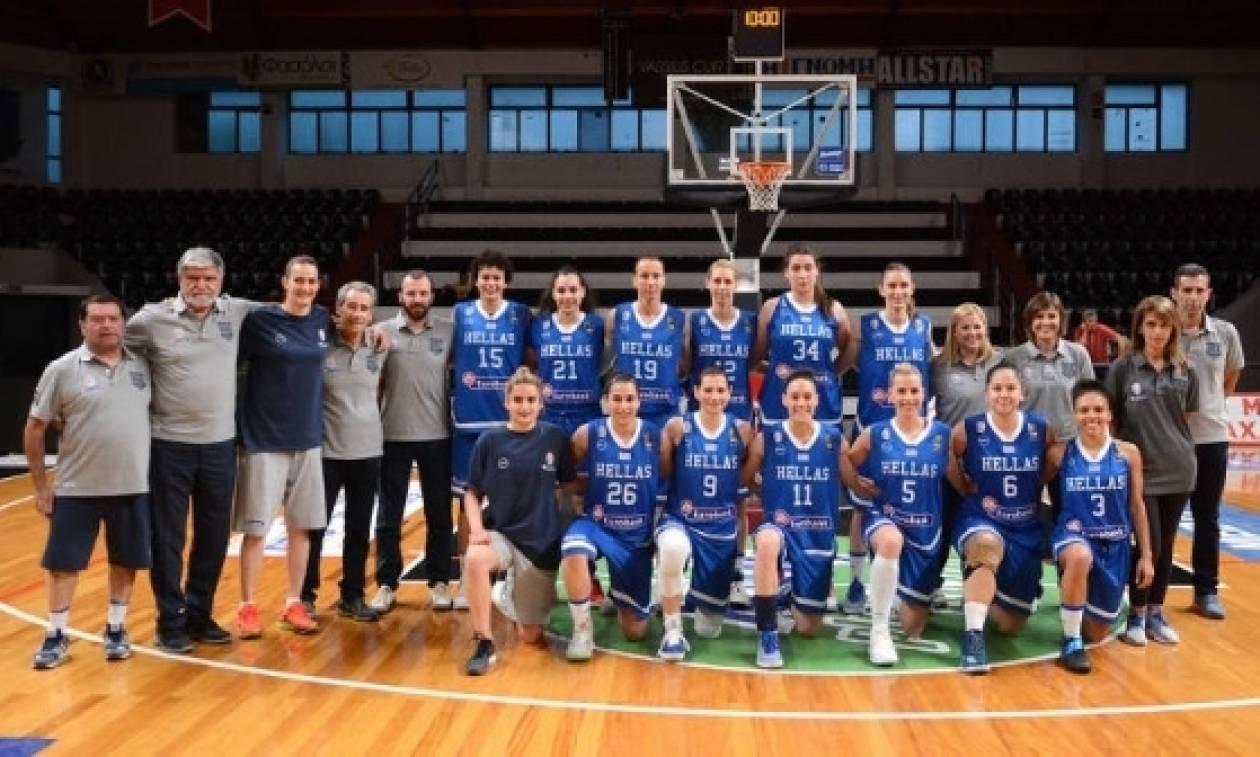 Η εθνική ομάδα μπάσκετ γυναικών στην Κοζάνη για τον προκριματικό αγώνα του Eurobasket 2019