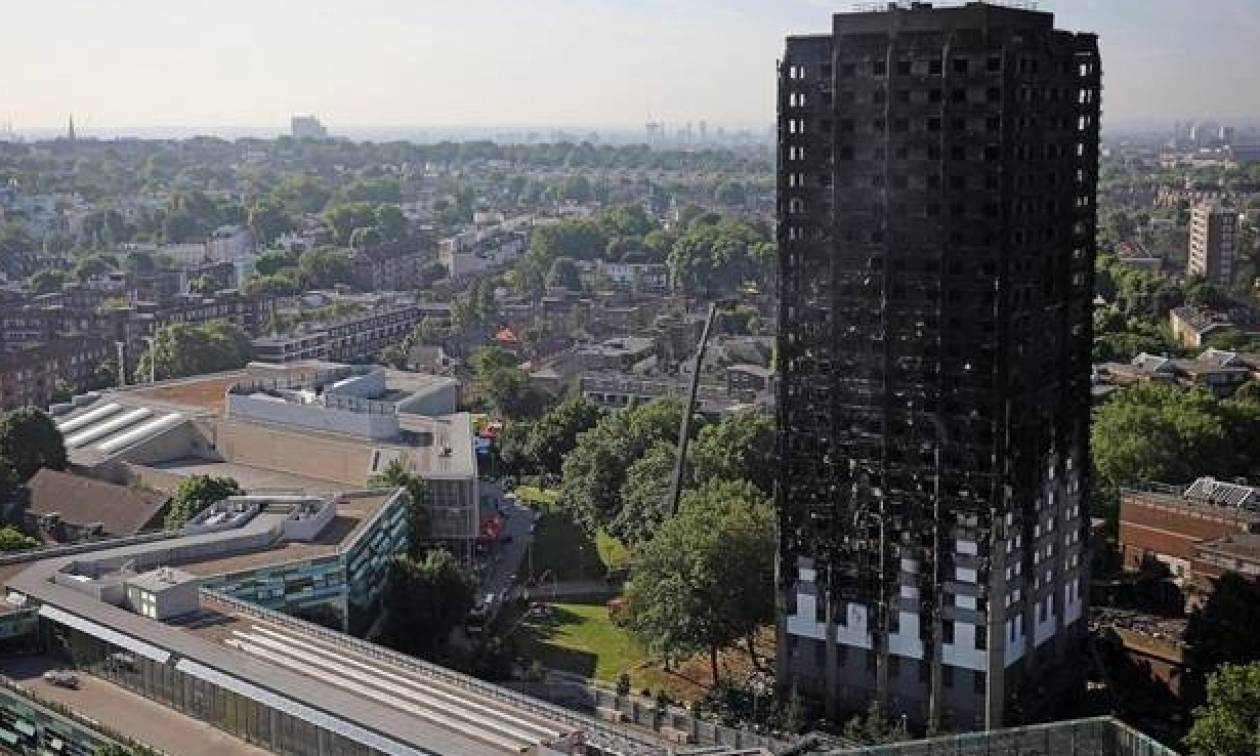 Τραγωδία Grenfell Tower: Ενδεχόμενο διώξεων για ανθρωποκτονία – Τα σενάρια που εξετάζουν οι αρχές