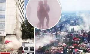 Ισχυρός σεισμός 7,1 Ρίχτερ συγκλόνισε το Μεξικό - Ισοπεδώθηκαν κτήρια (vids)