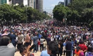 Σεισμός Μεξικό: 27 κτίρια έχουν καταρρεύσει στην πρωτεύουσα