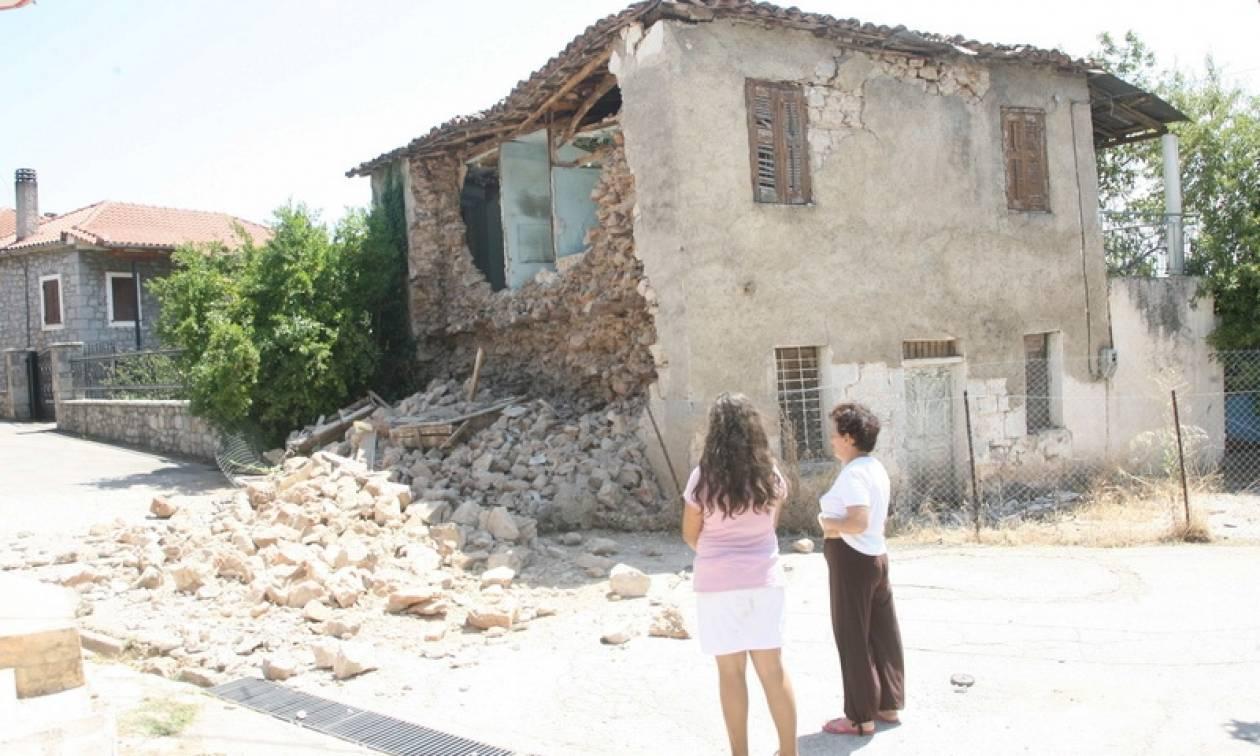 Σεισμός Ελλάδα: Μέχρι 31/12 οι αιτήσεις για αποκατάσταση των ζημιών από τους σεισμούς του 2013-14