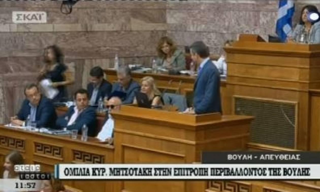Έξαλλος ο Μητσοτάκης στη Βουλή: «Γιατί γελάτε, κυρία μου;» - Δείτε το βίντεο