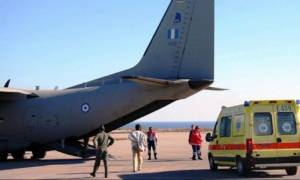 Ηράκλειο: Αερογέφυρα ζωής για τρία άτομα
